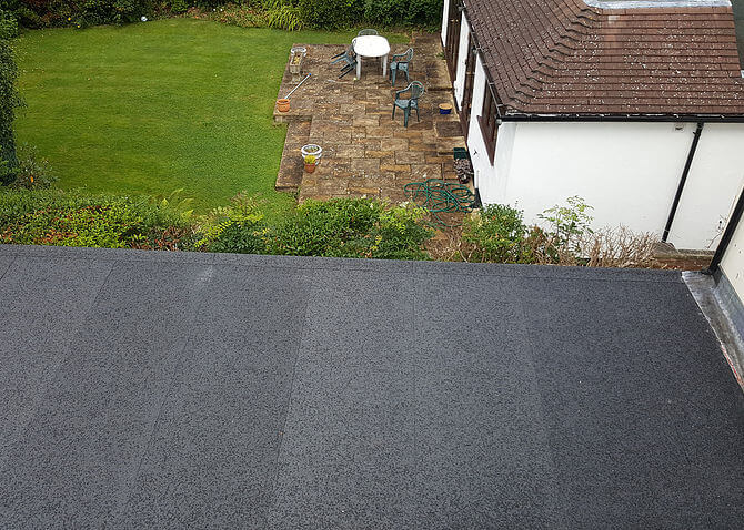 Precision Roofing and building maintenance Felt Roof