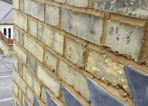Precision Roofing and building maintenance brick work