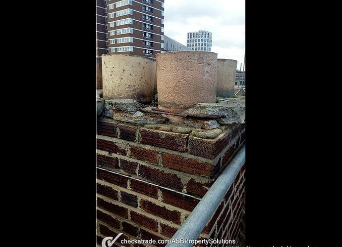 Precision Roofing and building maintenance chiminey repair