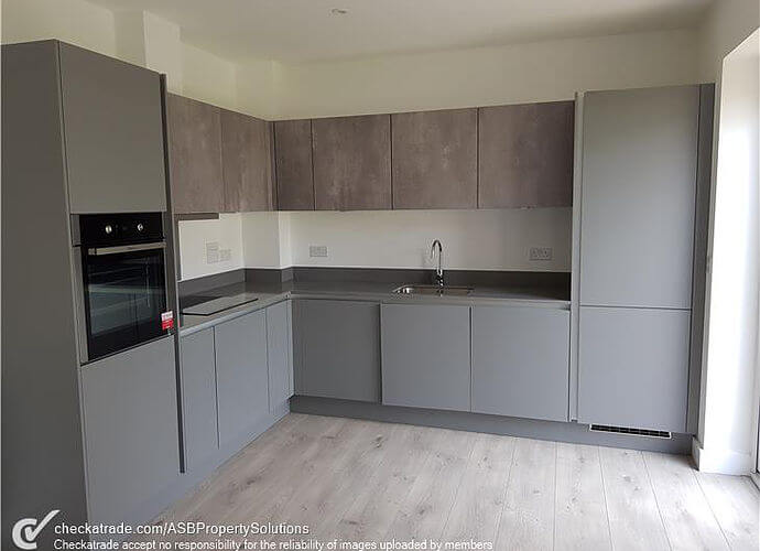 Precision Roofing and building maintenance kitchen work