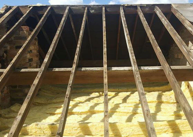 Precision Roofing and building maintenance new roof