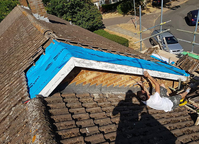 Precision Roofing and building maintenance roof repair