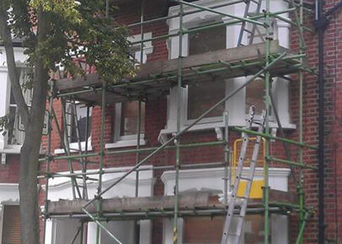 Precision Roofing and building maintenance windows